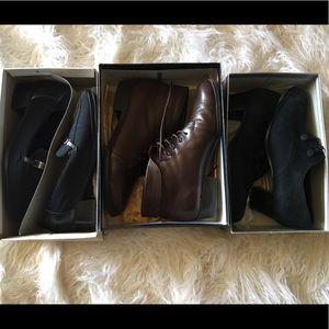 3 Pairs Shoes Naturalizer Worthington Aerosoles